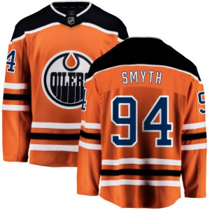 Ryan Smyth Edmonton Oilers Men's Fanatics Branded Orange Home Breakaway Jersey