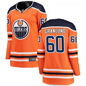 Markus Granlund Edmonton Oilers Women's Fanatics Branded Orange Breakaway Home Jersey
