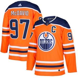 Connor McDavid Edmonton Oilers Men's Adidas Authentic Royal Jersey
