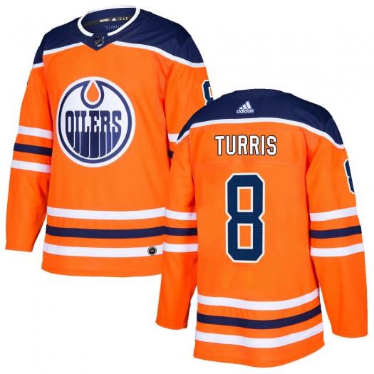 Kyle Turris Edmonton Oilers Men's Adidas Authentic Orange r Home Jersey