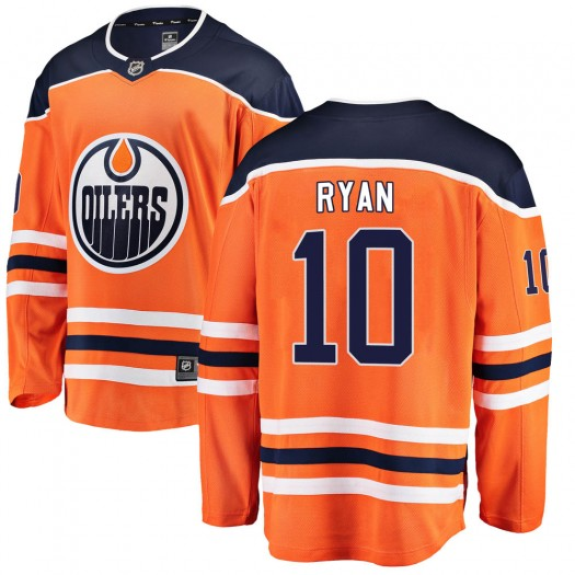 Derek Ryan Edmonton Oilers Men's Fanatics Branded Orange Breakaway Home Jersey