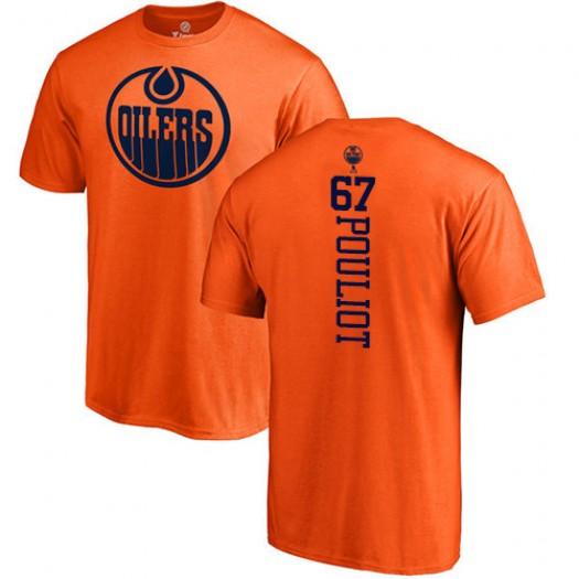 Benoit Pouliot Edmonton Oilers Youth Adidas Premier Orange Home Jersey