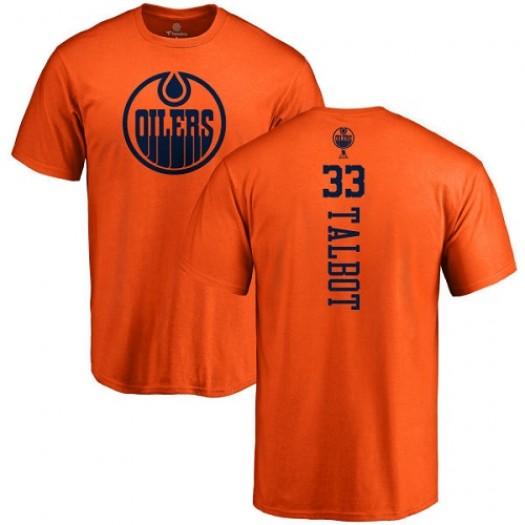 Cam Talbot Edmonton Oilers Youth Adidas Premier Orange Home Jersey