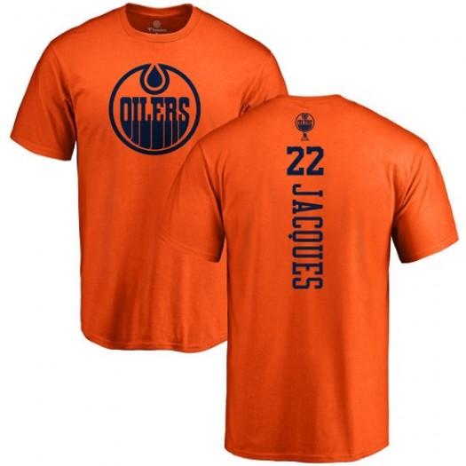 Jean-Francois Jacques Edmonton Oilers Youth Adidas Premier Orange Home Jersey