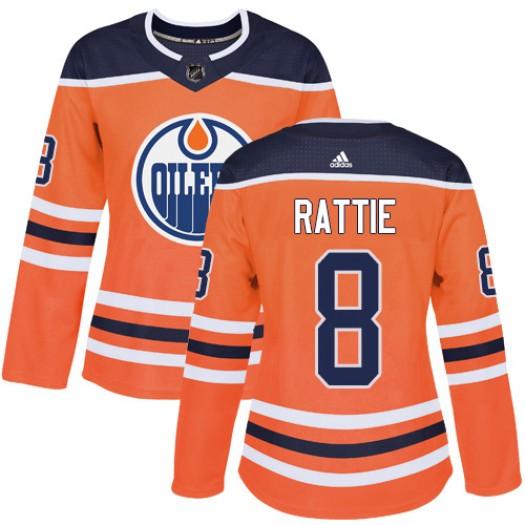 Jonas Gustavsson Edmonton Oilers Youth Adidas Authentic Orange Home Jersey