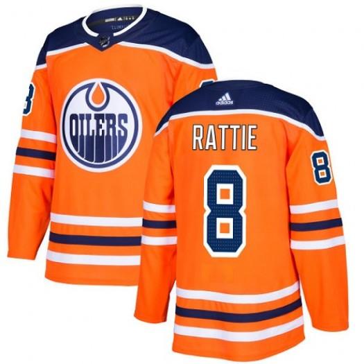Nail Yakupov Edmonton Oilers Men's Adidas Premier Orange Home Jersey