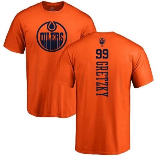Wayne Gretzky Edmonton Oilers Youth Adidas Premier Orange Home Jersey